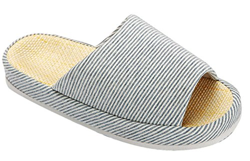 bronze-times-tm-unisex-classic-zebra-stripe-indoor-cotton-flax-house-slippers-c-blue