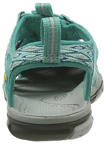 Keen Clearwater Cnx, Sandales Bout Ouvert Femme Turquoise (Lagoon/Vapor)