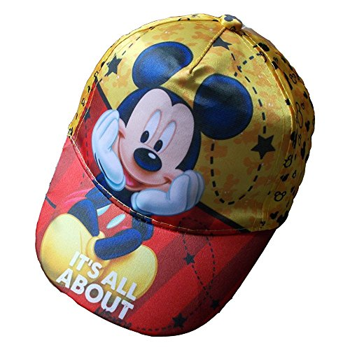 STAR LICENSING Sommer Hut TOPOLINO Mickey Maus Disney MIT Visier EINZIGE GRÖßE - 45366/2