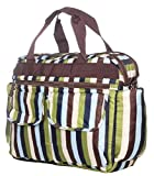 #6: Tiffy and Toffee Mizzle Diaper Bag/Mama Bag (Streaks)