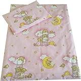 babies-island une Parure de lit 2pièces Taie d'oreiller + Housse de Couette pour bébé pour lit bébé/Lit bébé lit