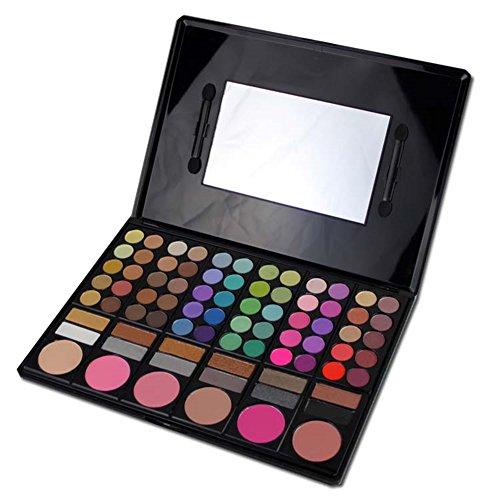 PhantomSky 78 Couleurs Fard à Paupières Palette de Maquillage Cosmétique Set avec Correcteur et Fard à Joues et Rouge à Lèvres #1 - Parfait pour une utilisation professionnelle et quotidienne