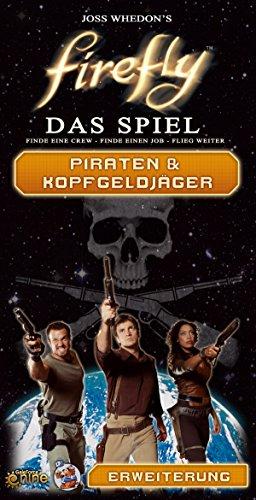 (Asmodee Firefly: Piraten & Kopfgeldjäger Brettspiel, Erweiterung)