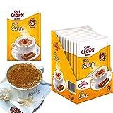 Istanbulbazaar®Sahlep Salep Instant Mix Sahlab Orchid Ülker Cafe Crown 10 x 18,5 gramm Salep -10 Portionen - Getränkepulver mit Salep Aroma - 10er Pack