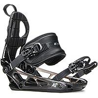 K2 Cinch TC Black Snowboardbindung, schwarz, 11B1003.1.1