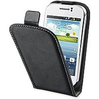 Muvit MUSLI0393 Etui Slim pour Samsung Galaxy Young S6310 Noir