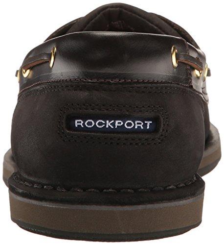 Rockport Ports of Call Perth K54692, Herren Bootsschuhe, Braun (DK BROWN PULL UP), EU 44 (UK 9.5) Black/Bark