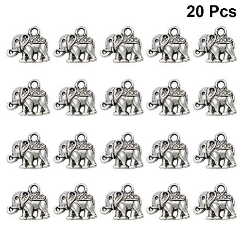 Healifty Fabricación de joyas de diy colgantes de elefantes de bricolaje para...