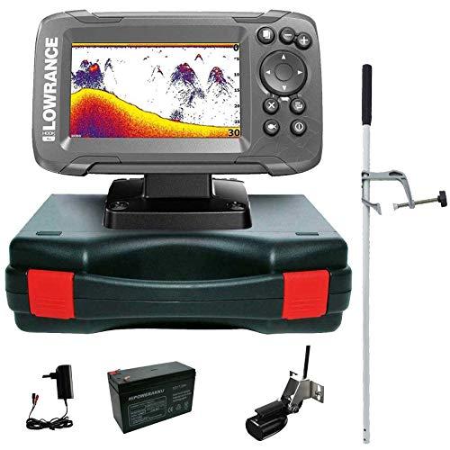 Lowrance Echolot Fischfinder Portabel Master Edition Komplettsystem Hook2 4X Frequenz-sonar-fishfinder