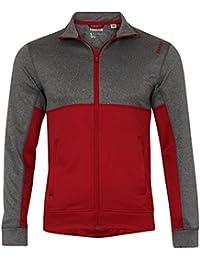 Reebok Homme Sport Essentials Veste, Rouge, Taille