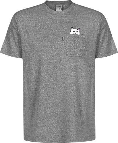 89ad0ff7ce434b Rip N Dip Lord Nermal Pocket Camiseta Heather Grey