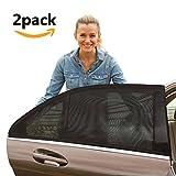 [2 Stück] Sonnenschutz Auto Baby, YIYAYO Auto-Hinterseitenfenster Sonnenblenden...