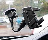 Sopporto / Montaggio Auto Per Meizu PRO 6 Plus / M3X / Pro 6s / M5 / M3 Max / M3E / M3S / Pro 6 / 5 | M2 | MX5 | M2 Note | MX4 Note | MX3 - Ventosa Per Parabrezza - DURAGADGET
