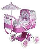 Jose Cuevas Jose cuevas8502138x 60x 65cm plegable de la muñeca cochecito de bebé con bolsa y paraguas