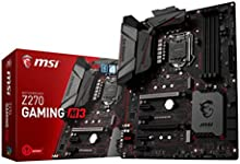 MSI Z270 GAMING M3 - Placa base Entusiasta (Chipset Intel Z270, DDR4 Boost, Steel Armor, Killer E2500, Audio Boost 4, M.2 Shield, VR Ready, Military Class V)