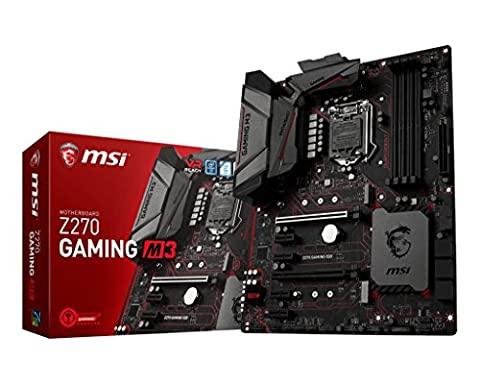 MSI Z270 Gaming M3 LGA 1151 DDR4 HDMI,DP 2x M.2 (1x Steel Armor) & 10x (Mouse Ps / 2 Optical Mouse)