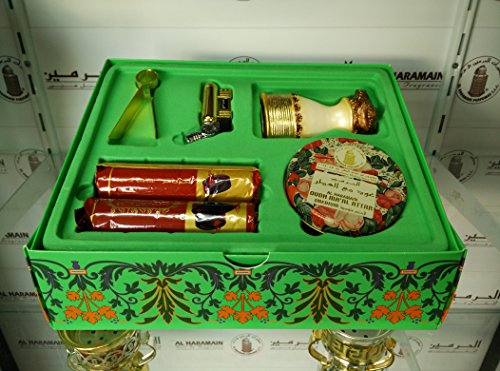 oudh-maal-attar-traveller-set-gift-set-incense-burner-charcoal-lighter-tongs