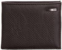 STORM Men's Leather Look Wallet Black Centric