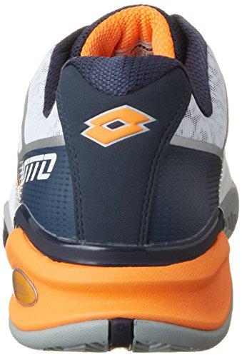 Lotto Sport Stratosphere Ii Cly, Chaussures de Tennis Homme Blanc (Wht/blu Avi)