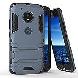 Funda Protectora para Motorola Moto G5 Plus | Azul Oscuro | Cubierta Dura con