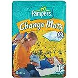Pampers Change Mats, 12 Mats