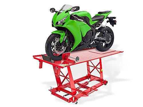 Motorradhebebühne Pro XL fahrbar 500 kg