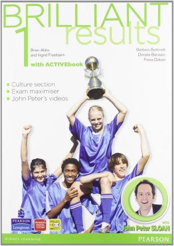 Brilliant results! Student's book-Workbook. Per la Scuola media. Con espansione online: 1