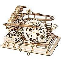 Robotime Puzzle in Legno Tagliato al Laser   Kit Modello Set Costruzione   3D Puzzle Gioca (Waterwheel Coaster)