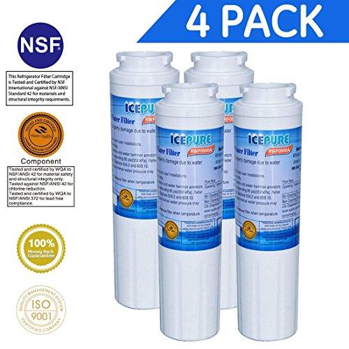 4 Pack - IcePure Wasserfilter ersetzen Maytag, Amana, Kenmore, Jenn-Air, Whirlpool, Kitchenaid, UKF8001, UKF8001AXX, UKF - 8001P, UKF9001, UKF9001AXX, 469006, 469992, 9005, 9006, 469030, 12527304, 4396395, WF295, WF50, SGF-M10 (Maytag Wasserfilter Ukf8001axx)