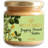 FITTER FRESH Creamy Peanut Butter with Organic Jaggery | With Ayurvedic Absorption Science for digesting high Protein | No Pr