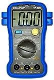 HoldPeak Digital Kapazitäts-Messgerät HP-39D mit automatischer Beleuchtung und Nullabgleich, Magnethalterung, blau/grau
