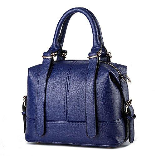 koson-man-damen-gurtel-sling-tote-taschen-top-griff-handtasche-dunkelblau-blau-kmukhb212