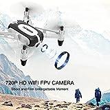 GoolRC T700 Drone 720P WiFi FPV Mini Selfie Droni G-Sensor Altitude Hold RC Training Quadcopter w / 2 Batteria per Principianti Bambini by GoolRC