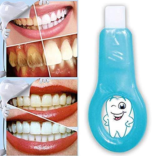 Dental Care Kit (Teeth Whitening Kit Dental Bleaching Professionelle Zahnreinigungsstreifen für die Mundreinigung(1 Griffe + 4 Streifen) (Weiß))