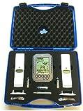 Profi-Messkoffer Klimalogg Pro anthrazit TFA 30.3039.10 und 2 Sensoren