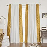 Best Home Fashion Sideborder Faux Silk Blackout Curtain - Best Reviews Guide