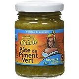 CHALEUR CREOLE Pâte de Piment Vert 100 g - Lot de 3