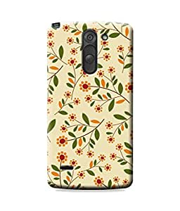 Be Awara Green Leaves Designer Mobile Phone Case Back Cover For LG G3 Stylus