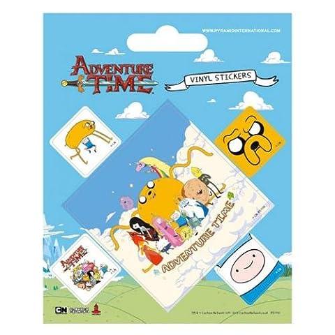 Adventure Time Sticker Lot de 10x 12,5cm