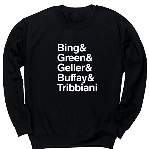 Hippowarehouse Bing & Green & Geller & Buffay & Tribbiani Kids Children's Unisex Jumper Sweatshirt Pullover