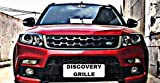 #7: SDR Premium Quality Front Chrome Grill For Vitara Brezza (Discovery Style)