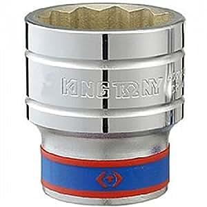 """KING TONY 833080M Douille Métrique 1"""" Standard, 80 mm"""