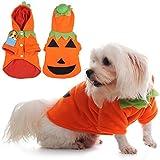LianLe® Disfraces Calabaza Halloween Ropa Mascotas perro gato