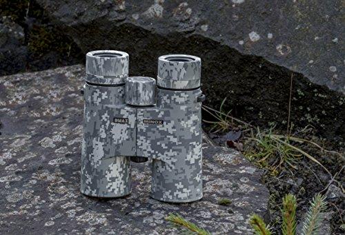MINOX DMAX Camouflage 8x42 Fernglas – Lichtstarkes Fernglas in Camouflage für die Beobachtung bis...