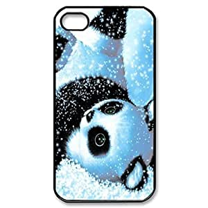 panda sleep Pattern Silicone Rubber Non-slip Protective Cover Case Skin For Apple iPhone 5 5S