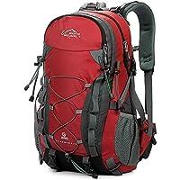 Lixada 40L Outdoor Senderismo Mochila Impermeable Hombres Mujeres Mochila  Profesional Viajar Camping Alpinismo Bolsa de 937dbea8494c9