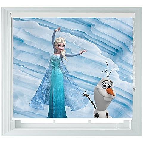 Frozen con Elsa y Olaf Style varios tamaños negro fuera Persianas para dormitorios Baños, Cocinas Y caravanas® de pingüino,