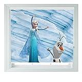 Frozen Elsa & Olaf-verschiedene Größen Black Out Rollo für Schlafzimmer Badezimmer Küche und Wohnwagen AOA®, 4ft/122cm