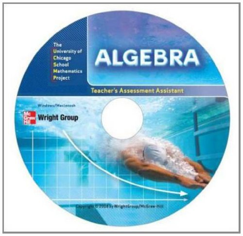 Algebra: Assessment Assistant CD-ROM (UCSMP TRANSITION MATHEMATICS)