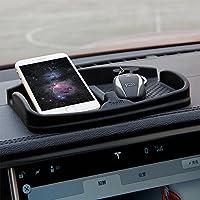 Topfit cruscotto tappetino antiscivolo in silicone, antiscivolo Pad cruscotto auto universale supporto del telefono supporto per GPS da sole portachiavi monete
